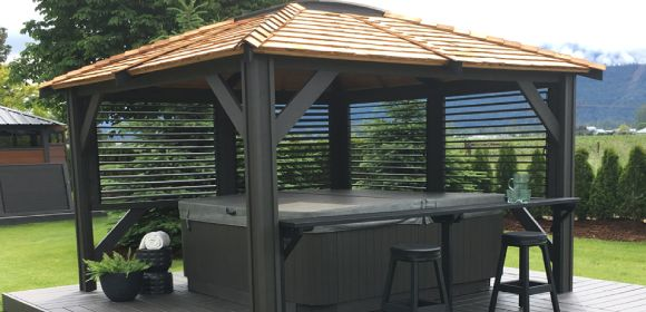 Award Leisure Hot Tub Enclosure